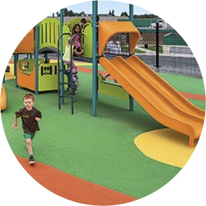 EPDM for playgrounds